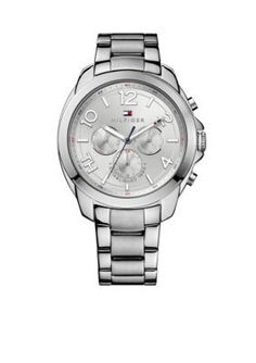 Tommy Hilfiger  Womens Sport Multifunctional Stainless Steel Watch
