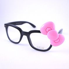 Hello Kitty! nerd glasses.