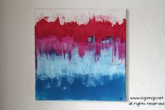 Original Abstract Painting Acrylic & Ink