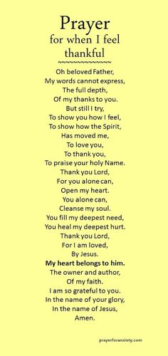 A Prayer for you and me.
