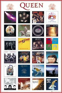 Queen ~ Album Covers.......................