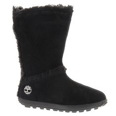 Timberland Women's Mukluk 10' 7.5 B(M) US Black-Suede >>> See this awesome image  : Timberland boots
