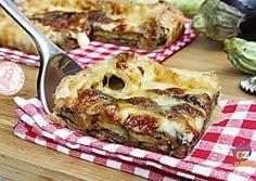 TORTA DI PARMIGIANA con melanzane zucchine ricetta facile