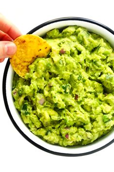 Truly the BEST guacamole recipe! It's quick and easy to make, naturally gluten-free and vegan, and always the hit of a party. See tips above for potential ways to customize your own guacamole recipe. Best Guacamole Recipe, Homemade Guacamole, Vegan Mexican Recipes, Vegan Recipes, Ethnic Recipes, Avocado Recipes, Dip Recipes, Mexican Appetizers, Avocado