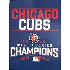 Chicago Cubs Retro Sign 8 X 12