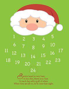 Santa's Beard Countdown