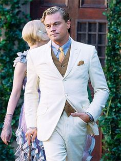 Leo as Gatsby. I don't think this movie can compare to the one in my mind, but I'll give it a shot.