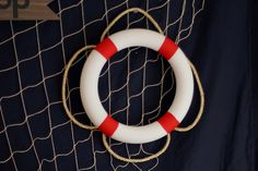 Kylie Mae's Party Ways: Tutorial - Decorative Life Preserver