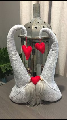 LISTING: IS FOR ONE - Double Kissing Valentines Gnomes The Set is approx. 9.5 inches tall. Choose your Favorite Color/s at Checkout. If You Would Like Multiple Colors Please Leave A Note in the Order Description. These Gnomes are VERY soft and made with Premium Materials. This
