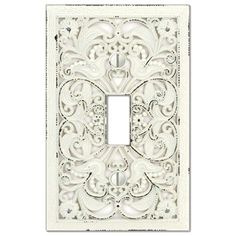 shop montage filigree 1gang standard toggle wall plate at loweu0027s canada find our