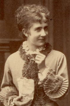 Betty Hennings as Nora in Ibsen's A Doll's House - 1879 (world premier production)