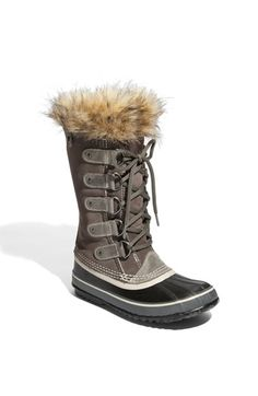 sorel 'joan of arctic' boot. I have these!! Such a great fashionable snow boot!