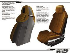 Range Rover Evoque Seat Design by Christopher Pollard at Coroflot.com