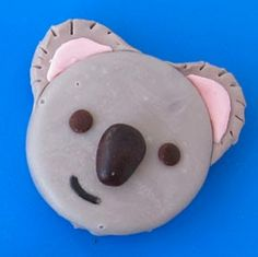 OMG! Koala Cookies! How cute would these be for a jungle-themed party?
