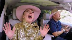 Lady Gaga participa do quadro 'Carpool Karaoke' do programa de James Corden