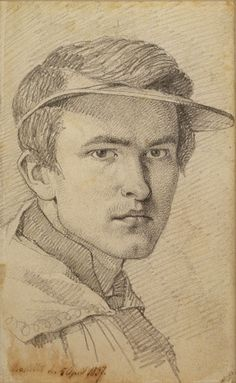 Thomas Lundbye (Danish, 1818-1848) Self-Portrait, 1837, Graphite, Charles Ryskamp Bequest, 2010, The Morgan Library & Museum Photography: Schecter Lee.