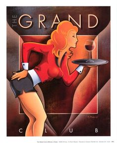 Michael Kungl - The Grand Club - art prints and posters