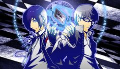 Persona 3 and Persona 4, Double Persona Summon!!! by Ark-iTek.deviantart.com on @deviantART