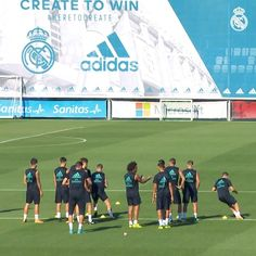 """486k Likes, 1,221 Comments - Real Madrid C.F. 🏆 (@realmadrid) on Instagram: """"🔝⚽✨ TRAINING HIGHLIGHTS August's best GOALS, SAVES and SKILLS! ¡Mejores GOLES, DETALLES TÉCNICOS y…"""""""