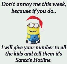 Merry Christmas Quotes, Happy Christmas Funny Sayings & Xmas Cards Minion funny Quotes Funny Minion Memes, Minions Quotes, Funny Texts, Funny Jokes, Funny Sayings, Minion Sayings, That's Hilarious, Minion Christmas, Christmas Humor