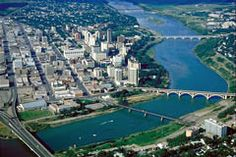 Aerial View of Saskatoon I Am Canadian, Canadian History, Best Places To Live, Places Ive Been, World Web, Saskatchewan Canada, Canada Eh, Canada Travel, Aerial View