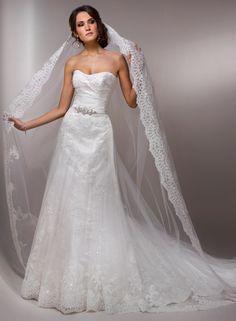 Maggie Sottero - Malina.... I love the veil!!!