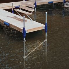 """Adds strength and stability to the dock system. Connects below the waterline and stabilizes 4' wide dock sections. Suggested where ever water depth exceeds 60"""" or on any large platform sections. Normal Duty. Product Number: TD-30004"""