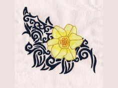 Vote for Tomorrows Free Embroidery Design - Tribal Flowers Flower Embroidery Designs, Machine Embroidery Designs, Embroidery Patterns, Brother Dream Machine, Life Design, Needlepoint, Sewing, Flowers, Projects