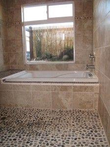 Cool River Rock Floor, For Master Bath Shower Floor... But Iu0027