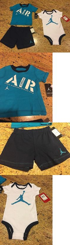 Michael Jordan Baby Clothing: Michael Jordan Set Nwt Baby 6-9 Months Jumpman Bodysuit, Shirt, Bottoms New $50 BUY IT NOW ONLY: $20.99