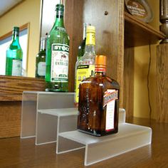 12-inch 3 Tier Liquor Bottle Shelf @ Keg Works $64