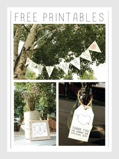 Wedding Printables.  Future Mrs. Sutton, I have them and can change the color if you like.