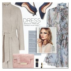 """""""Party On: Long Sleeve Dresses"""" by anna-anica ❤ liked on Polyvore featuring Reiss, Rupert Sanderson, Zimmermann and Kate Spade"""