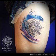 watercolour splash tattoo - Google Search