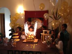 Cake table mysterious cities of gold theme