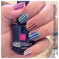 Nail art created using Jessica GELeration  Twitter: @TheBeautyBox_x