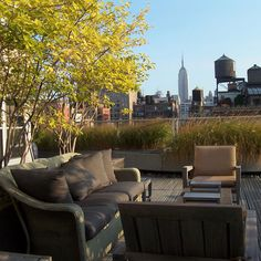 NYC rooftop...for a party, book club, poetry reading, watch a movie