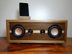 Just Custom Speakers - Listings View Reclaimed Wood Bluetooth Stereo Speakers