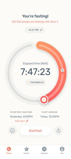 Zero Fasting - The World's Most Popular Fasting App What Is Autophagy, Healthy Life, Healthy Living, Elapsed Time, Coach Me, Knowledge Is Power, Gut Health, People Around The World, Helping People