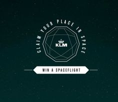 Claim your place in the Space. http://klmf.ly/10SEsTm