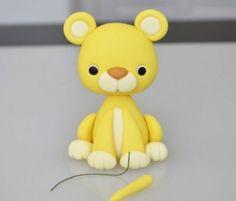 Löwe aus Knete mit Kindern basteln – Bastelanleitung-dekoking-com-5