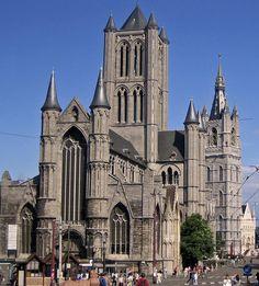 Catedral de San Bavon. Gant, Bélgica.