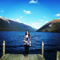 Nelson Lakes Lakes, New Zealand, Mountains, Nature, Travel, Naturaleza, Viajes, Destinations, Traveling