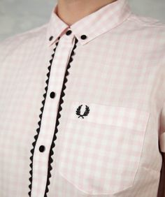 fred perry's amy winehouse line.   gingham and rickrack? LOVE IT.