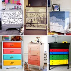 99 Awesome Old Dresser Makeover Ideas - http://www.amazinginteriordesign.com/99-awesome-old-dresser-makeover-ideas/