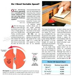 Image result for router bit speed chart pdf