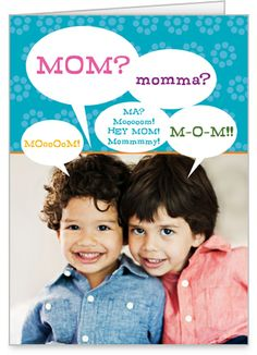 Playful Mom Mothers Day Card
