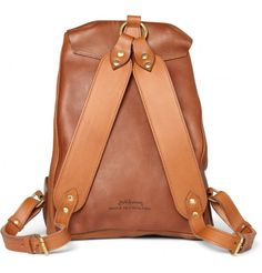Bill Amberg Hunter Full Grain Leather Backpack | Men's bags