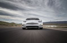Tesla Model 3 Photos by Motor Trends