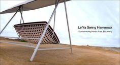 The LinYa Swing Looks Crisp and Contemporary and Boasts Green Features #bamboo #furniture trendhunter.com